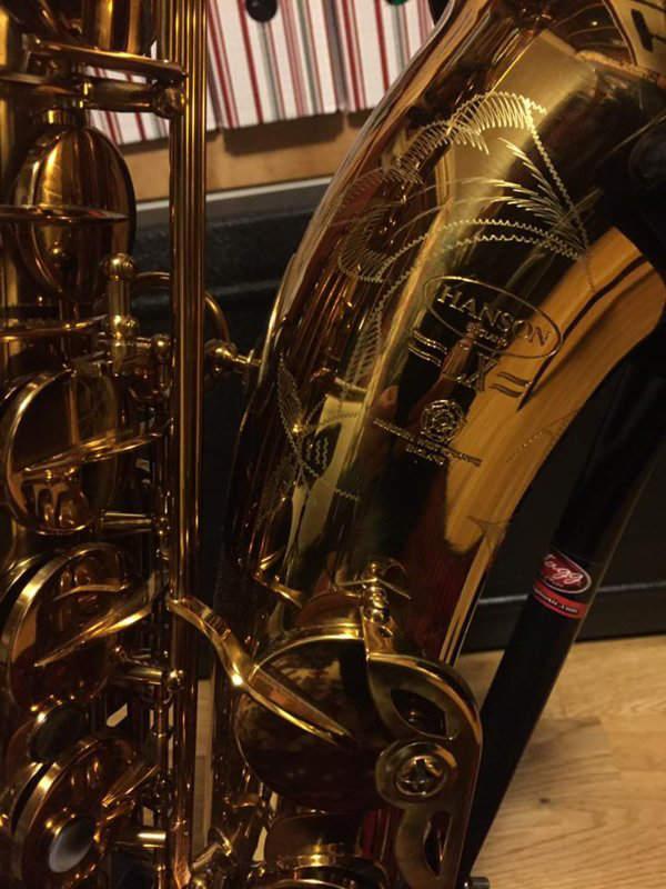New sax - Hanson LX vs ST8