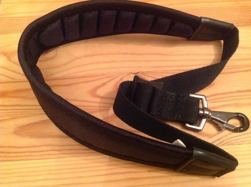 Protec Less Stress ballistic neoprene neck strap