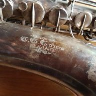Saxophones - Old C G Conn Tenor Saxophone found  Hoping to
