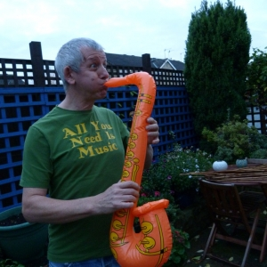 Inflatable Sax