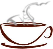 Cafe Saxophone Logo