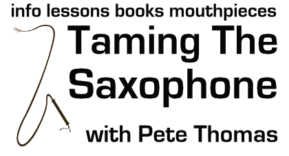 Taming The Saxophone